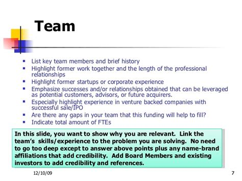 Request Letter For Team Building Sle Investor Presentation Template