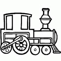 Coloring For Kids A Steam Train  Cars And Vehicles To Print sketch template