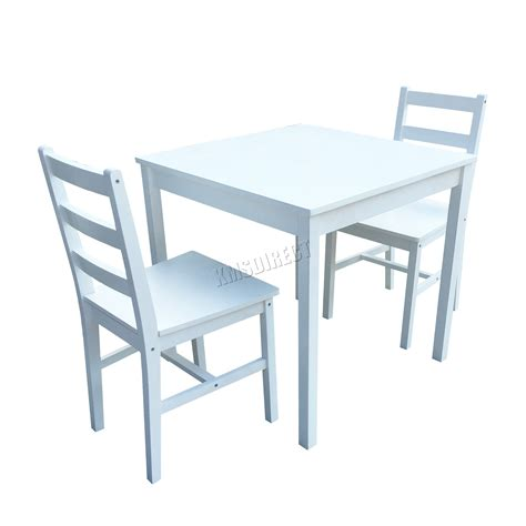 Solid Pine Kitchen Table Westwood Solid Pine Wood Dining Table With 2 Chairs Set Kitchen Home Furniture Ebay