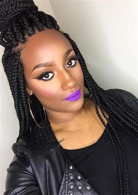 hairstyles for jumbo box braids 17 best images about box braids on pinterest big box