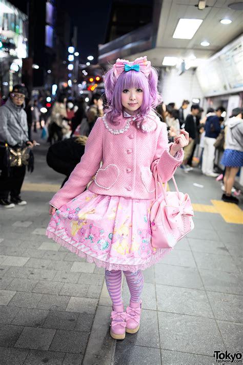 moco in sweet fashion in harajuku tokyo fashion news