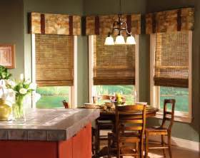 Window Treatments For Kitchens traditional kitchen window treatments with floral patterned valance