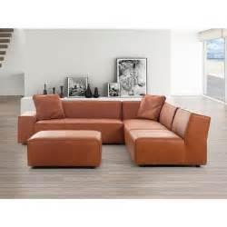 canap 233 d angle canap 233 en cuir vintage cognac sofa adam