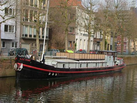 woonboot kopen gent scheepsportret luxe motor luctor