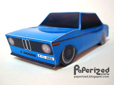 Bmw Papercraft - paperized crafts