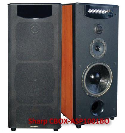 Speaker Aktif Sharp Bekas speaker aktif sharp cbox asp 1001bo dan harga