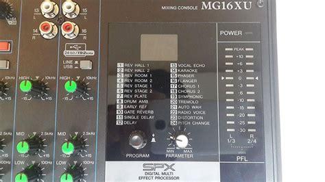 Mixer Yamaha 16 Xu mixer yamaha mg 16 xu 769 audio