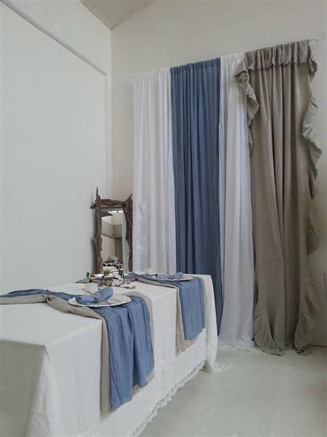 pesi per tende a pannello 1000 idee su tende di lino su restauro