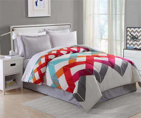 Chevron Bed Set Essential Home 8 Complete Bed Set Broken Chevron Shop Your Way Shopping Earn