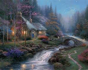 twilight cottage the kinkade company