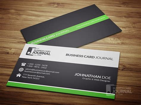 50 best free psd business card templates designscrazed