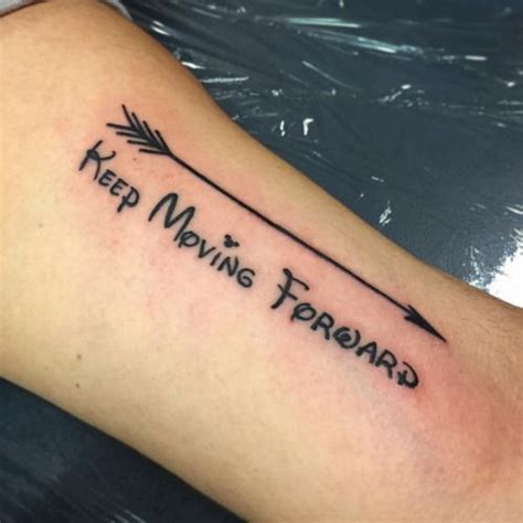 moving on tattoos keep moving forward search passions