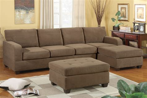 microsuede sectional sofa suede sectional sofa thesofa