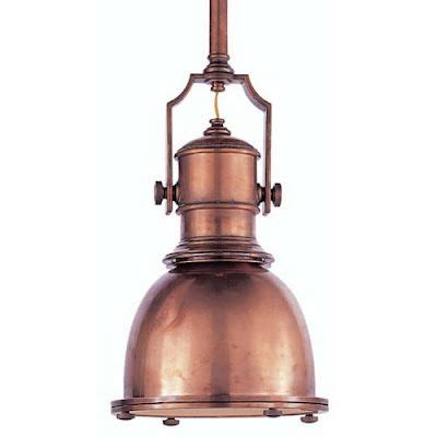 copper pendant light vintage lighting pinterest