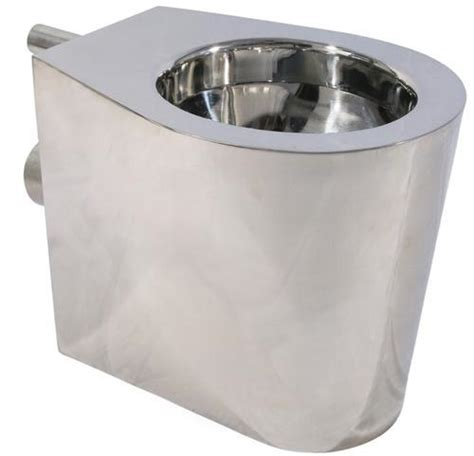 Stainless Steel Water Closet by Shrouded Pan Stainless Steel Western Closet Fabrimech