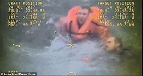 capsized fishing boat alaska boat captain saves crew after capsizing off alaska coast