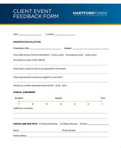 Template For Feedback Form For by Doc 405520 Client Feedback Form Ms Word Printable