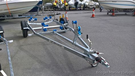 boat trailers for sale exeter extreme 1100 multi roller braked boat trailer in devon