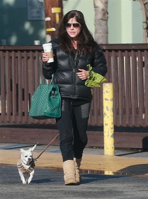 The New On The Gap Block Selma Blair And Mayer by Selma Blair Stop For A Morning Coffee At Starbucks In