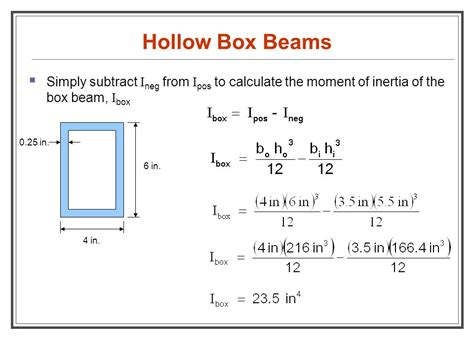 i section moment of inertia calculation moment of inertia of i section calculator 28 images