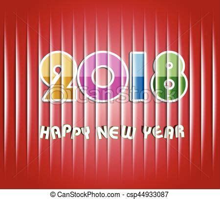 clipart anno nuovo nuovo felice 2018 anno vettore cerca clip