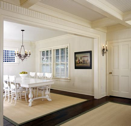 beadboard in dining room nantucket beadboard dining room
