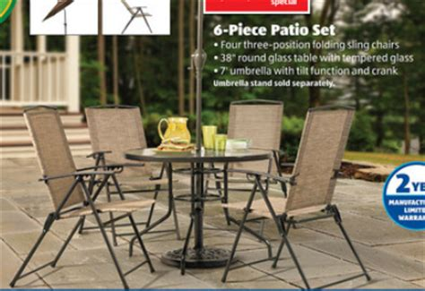 Gardenline Patio Furniture by Our Frugal Happy Aldi Weekly Deals 4 11
