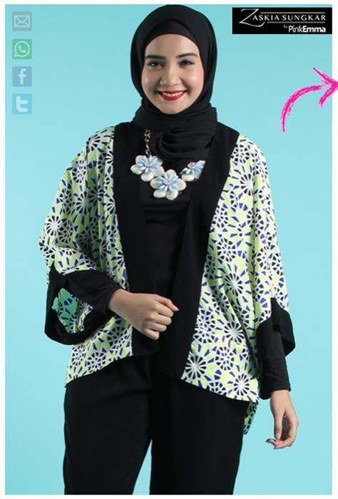 desain baju model zaskia sungkar contoh foto baju muslim modern terbaru 2016 desain model