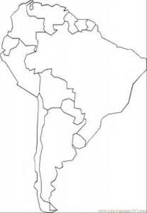 coloring pages south america education gt maps free