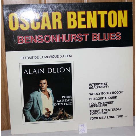 bensonhurst blues bensonhurst blues by oscar benton lp with dom93 ref
