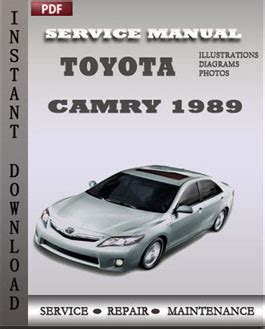 service manual car service manuals pdf 1989 ford thunderbird transmission control service 1989 toyota camry service manual pdf