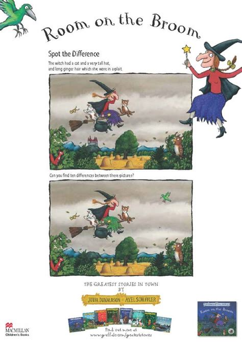 room on the broom activities printable room on the broom activities