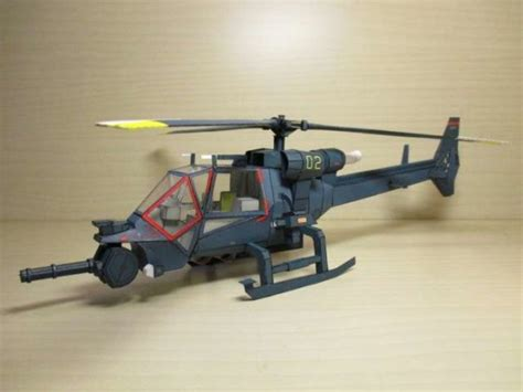 Papercraft Helicopter - blue thunder helicopter papercraft by a591452003