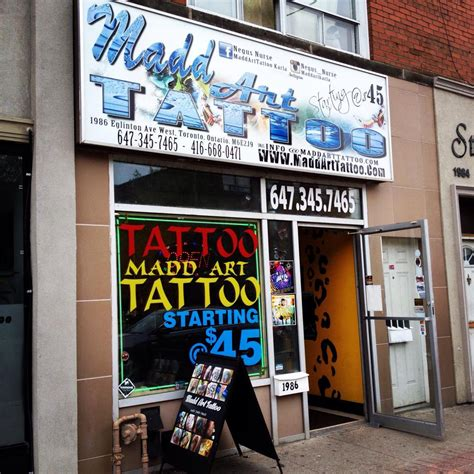 local tattoo shops mad toronto ontario your local shop