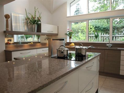 kitchen island worktops kitchens