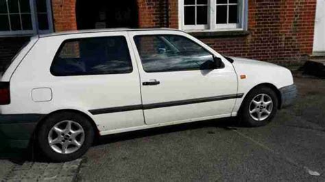 volkswagen car white volkswagen 1993 golf white car for sale