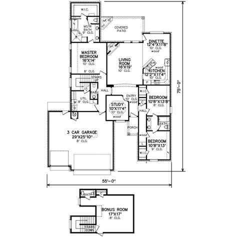 perry home plans floor plan 6157 21