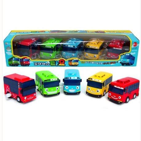 Die Cast Isi 5pcs Best Price tayo wind up toys 5 pieces tayo rogi gani rani and cito buy in uae