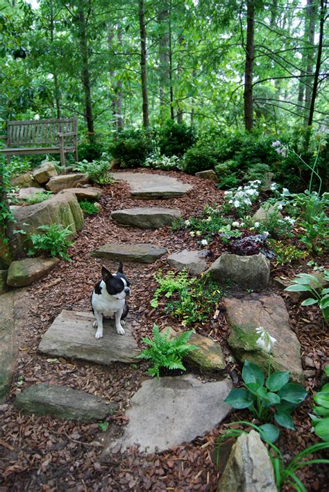 backyard landscaping ideas with stones stepping stone gardening ideas pinterest