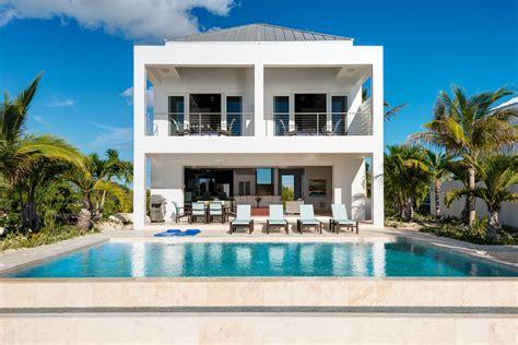 Ultra Contemporary Homes Miami Vice Two Near Sapodilla Bay Providenciales Provo