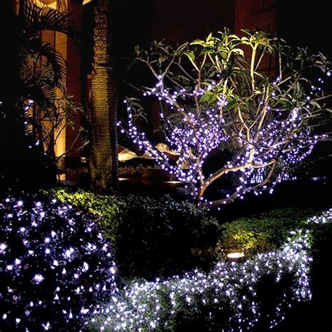 Coolest Light Decor Ideas For Your Christmas Night Stringing Lights In Trees
