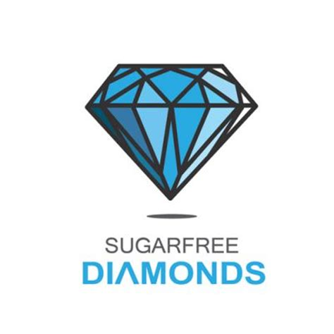 design logo diamond sugarfree diamond logo design gallery inspiration logomix