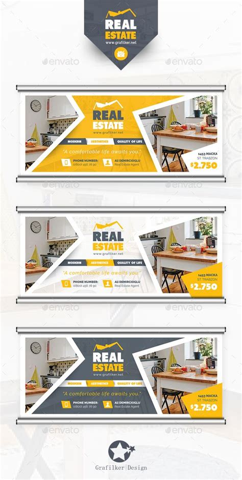 real estate billboard templates more design photoshop