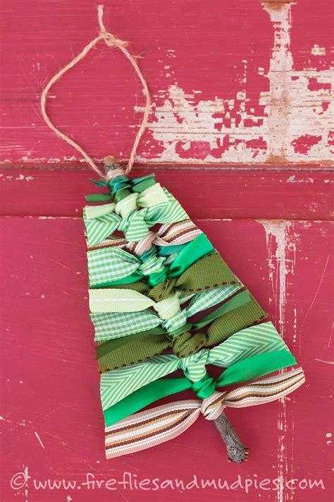 ribbon for tree scrap ribbon tree ornaments lushzone