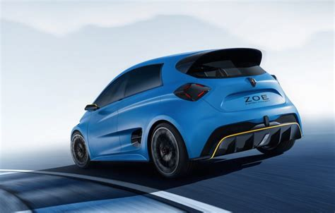 Renault Zoe E Sport Concept Does 0 100km H In 3 2sec