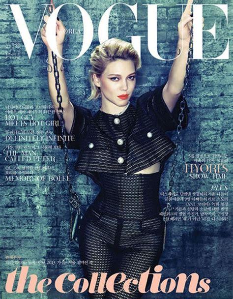 lea seydoux vogue cover lea seydoux vogue korea cover 2013 l 233 a seydoux photo