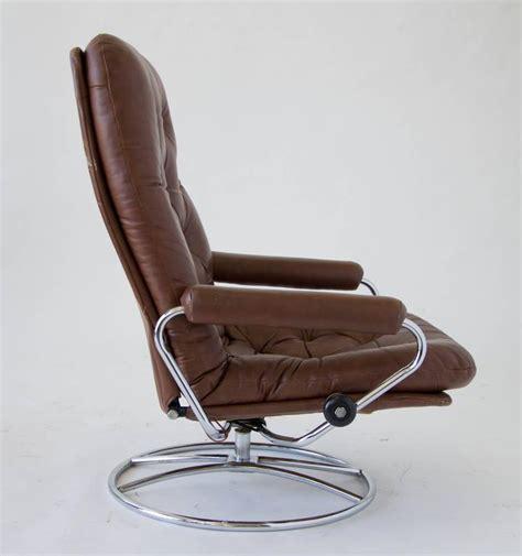 ekornes stressless ottoman ekornes stressless chair and ottoman at 1stdibs