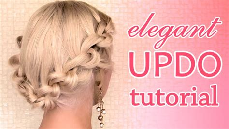 Wedding Hairstyles Quotes by Prom Wedding S Day Hair Tutorial Knotted Updo