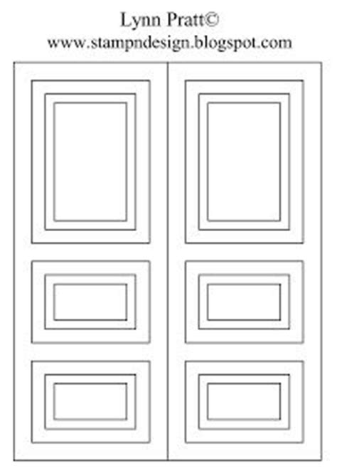 door template card card tutorial on card tutorials card