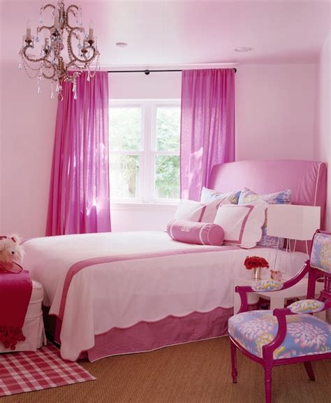 pink walls what color curtains hot pink curtains traditional girl s room katie by
